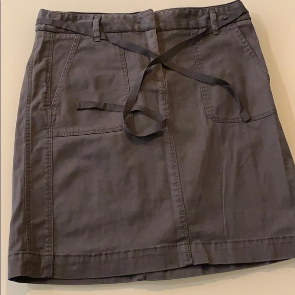 Loft cotton mini skirt